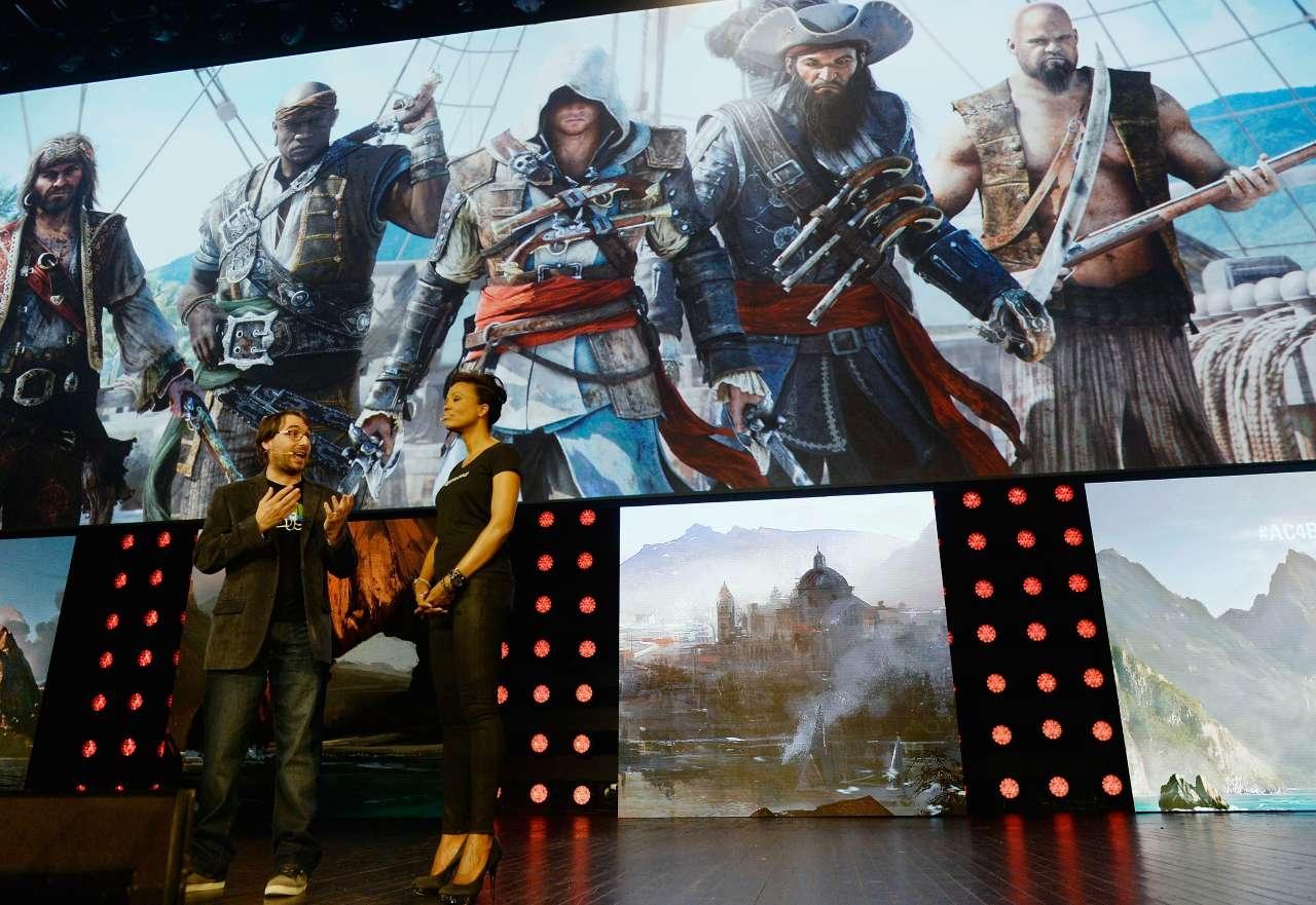 """E3-2014: Họp báo Ubisoft - Những """"món quà"""" bất ngờ!"""