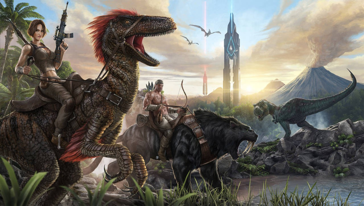 phieu-luu-trong-gioi-rong-lon-thong-tri-boi-khung-long-cua-ark-survival-evolved