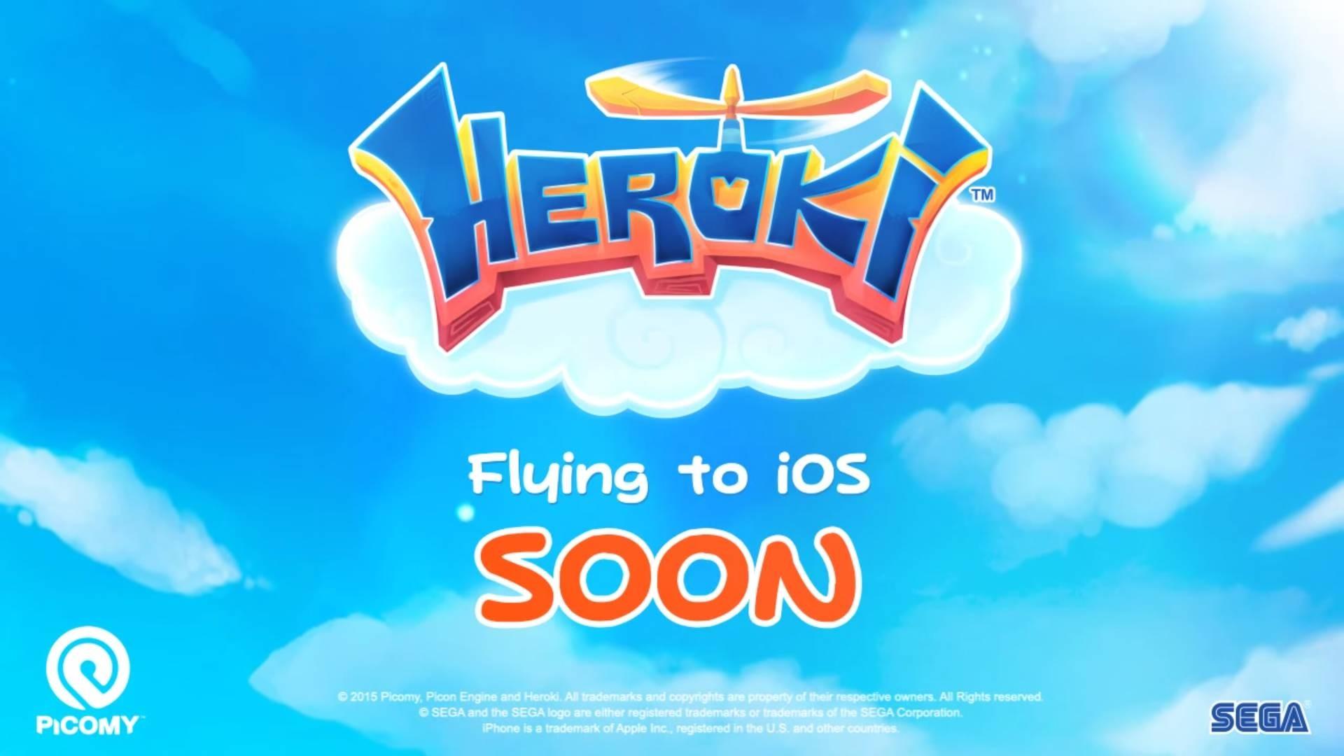 """Sega Promises Pretty Propeller-Headed Platformer """"Heroki"""" Will Be Out Soon"""