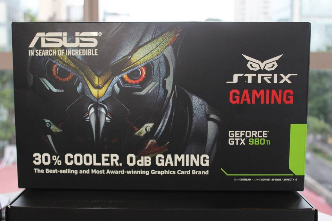 Asus Strix GTX 980 Ti - Đánh Giá Gaming Gears