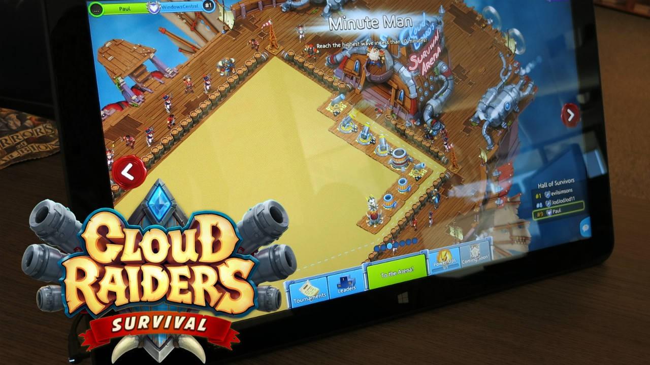 "Game Insight công bố game thủ thành ""Cloud Raiders: Survival Arena"""