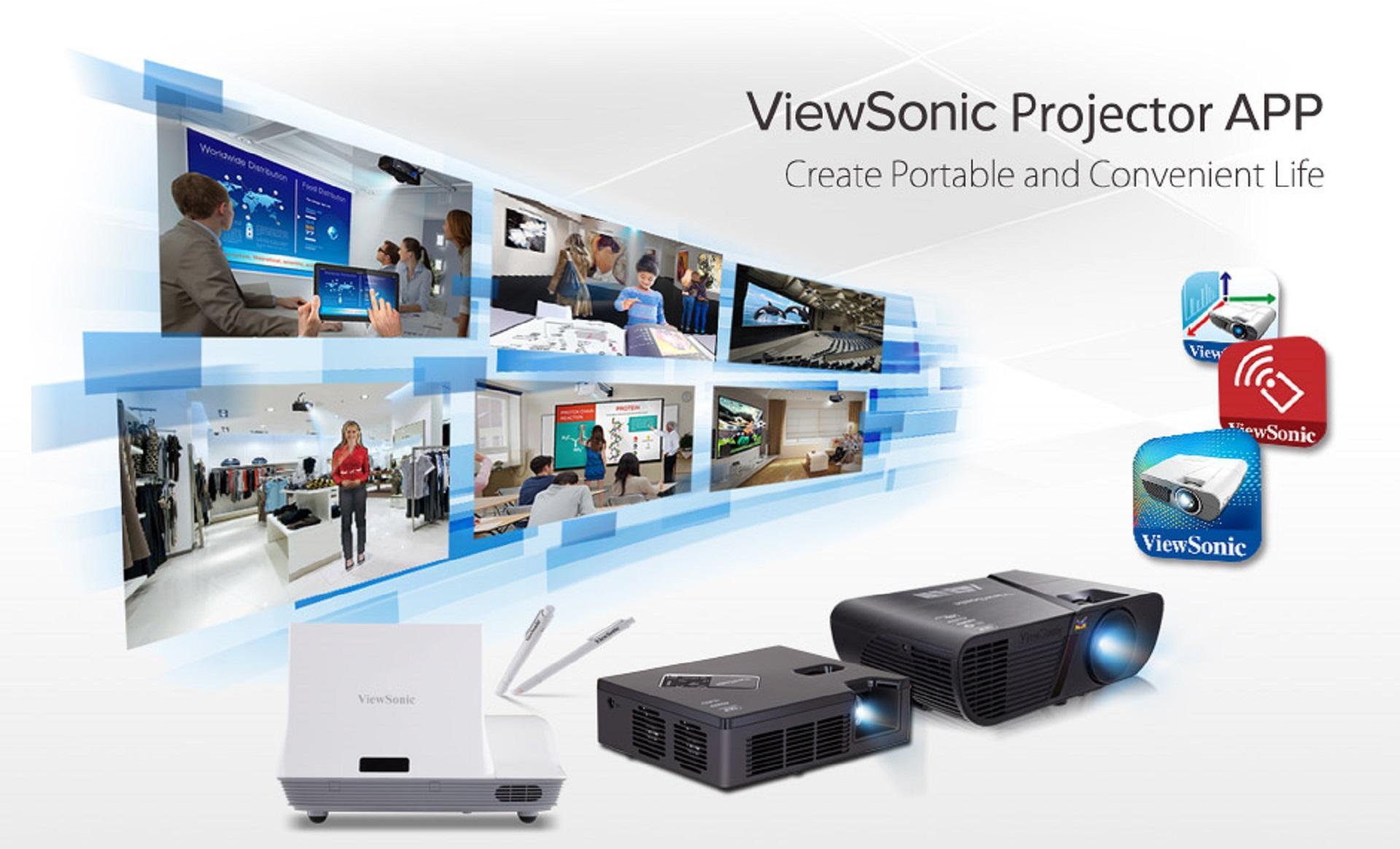 ViewSonic giới thiệu ba tiện ích hỗ trợ cho máy chiếu