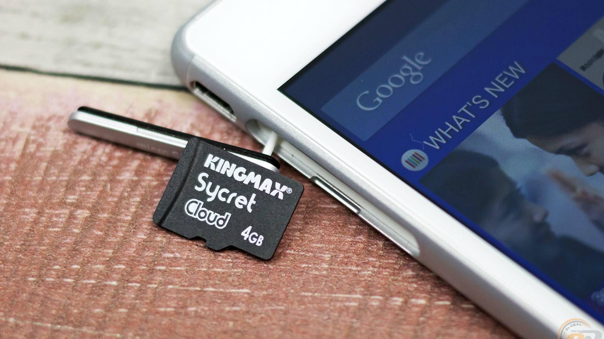 """Kingmax công bố thẻ nhớ mã hóa dữ liệu """"Sycret Cloud Card"""""""