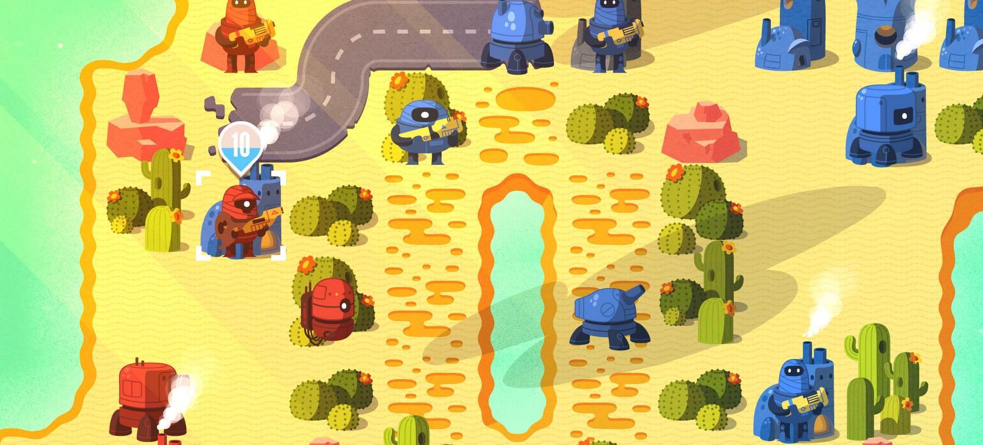 Risky Lab chuẩn bị phát hành Warbits trên iOS - Tin Game Mobile