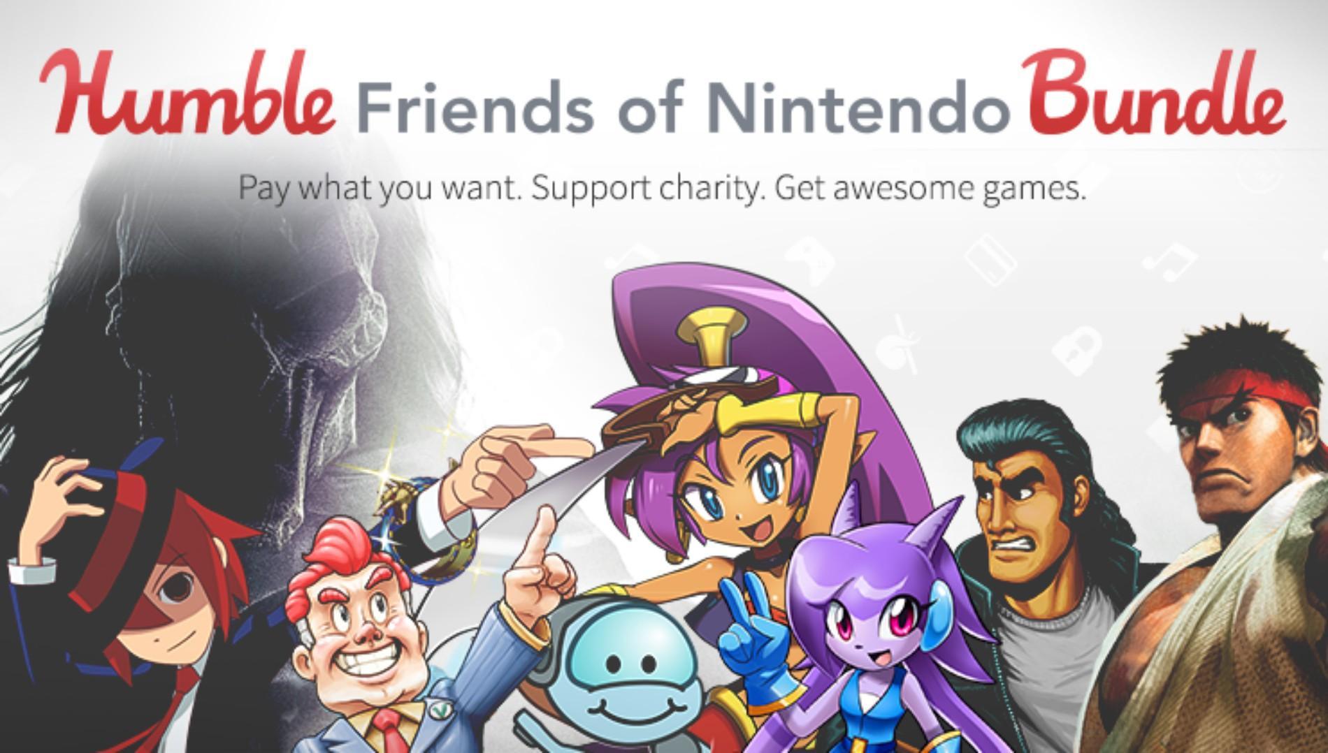 Humble Bundle cùng Nintendo giới thiệu gói ưu đãi Humble Friend of Nintendo Bundle