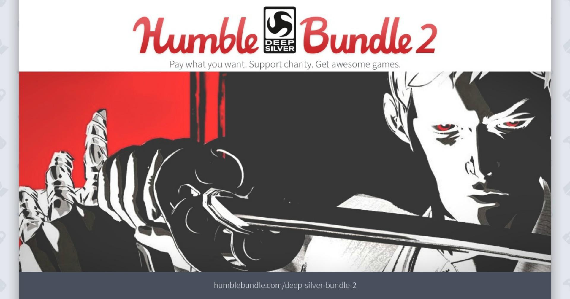 Humble Bundle giới thiệu gói ưu đãi Humble Deep Silver Bundle 2