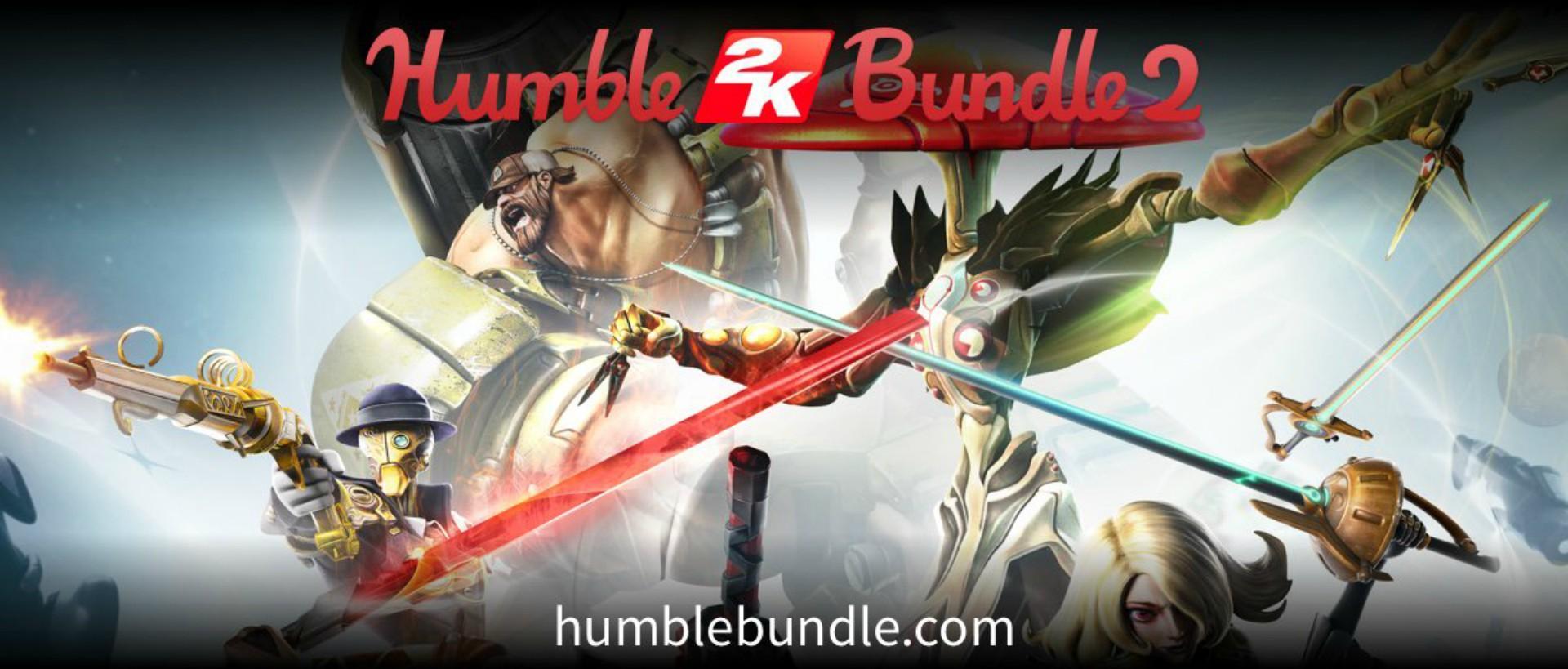 Humble Bundle giới thiệu gói ưu đãi Humble 2K Bundle 2 - Tin Game