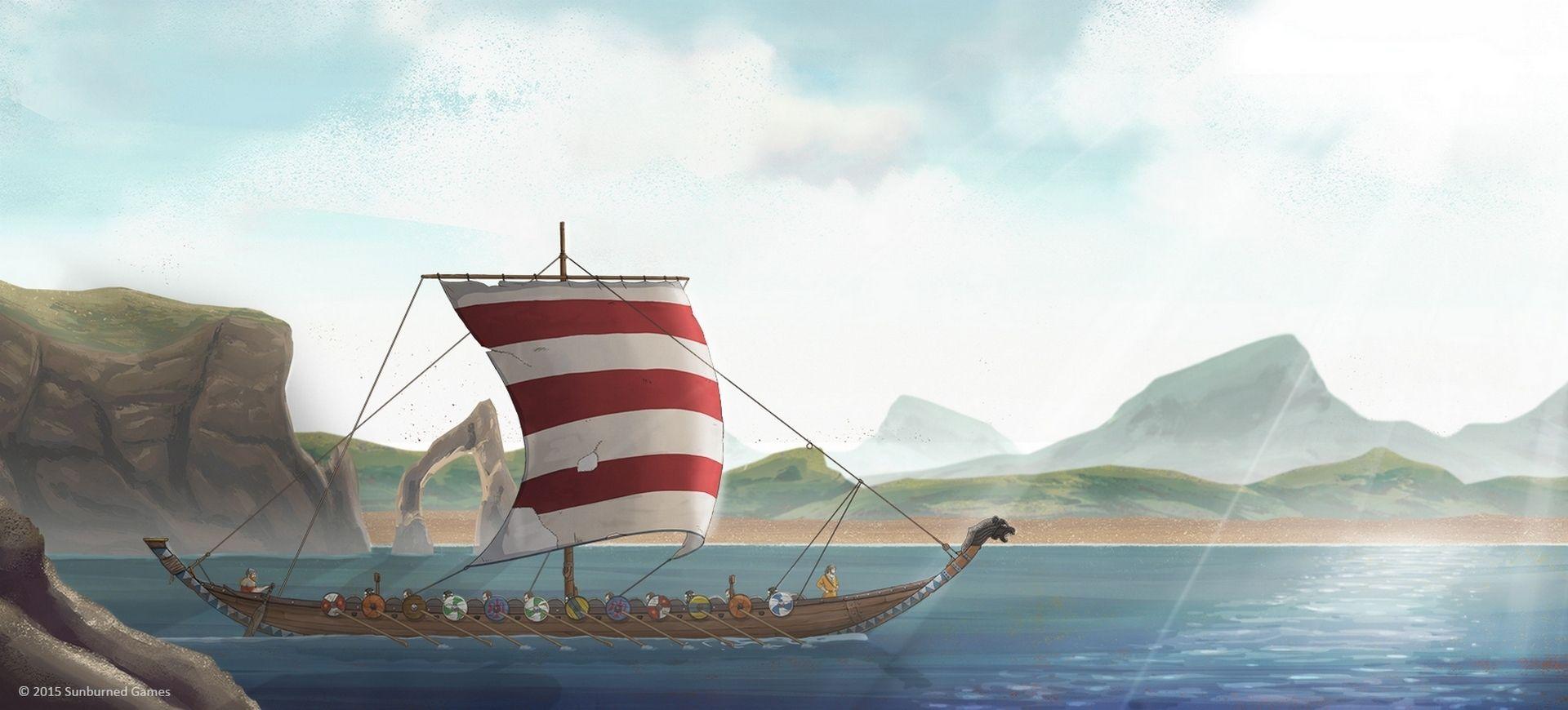 The Great Whale Road - Phương Bắc Thần Truyện - Giới Thiệu Game