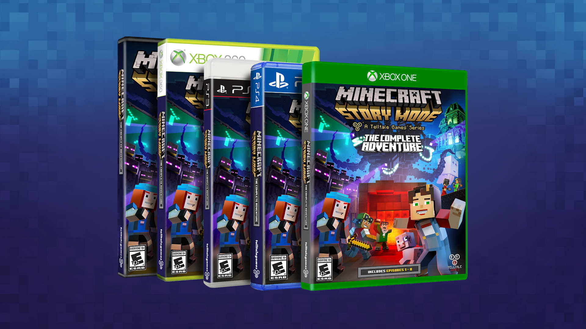 Minecraft: Story Mode - The Complete Adventure được công bố - Tin Game