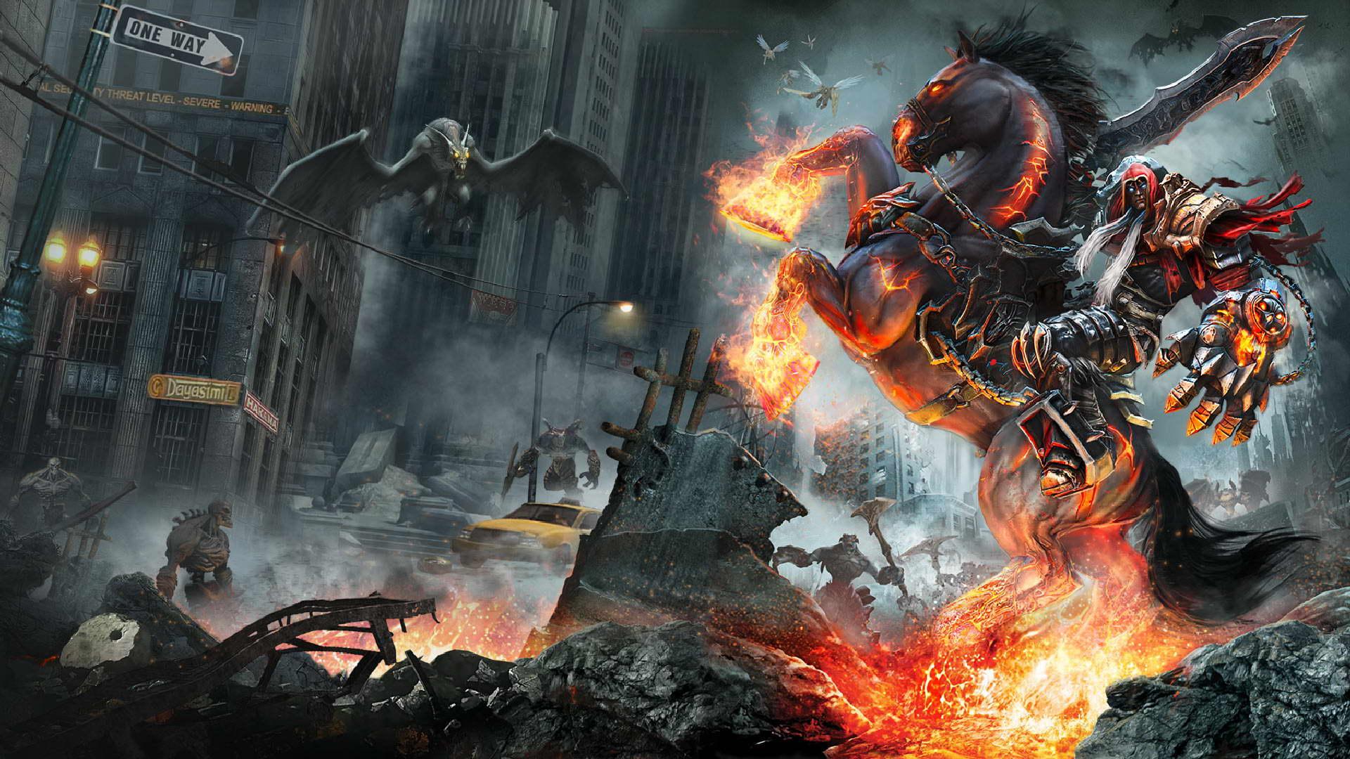 Darksiders: Warmastered Edition hỗ trợ 4K trên PS4 Pro và PC - Tin Game
