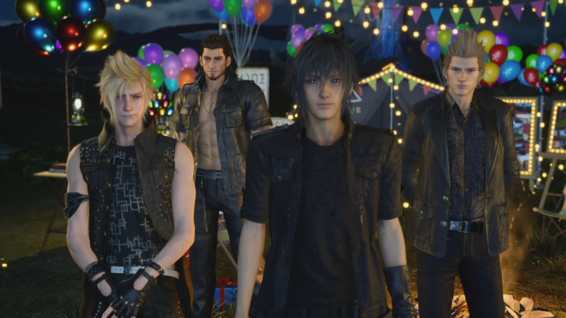Final Fantasy XV mừng dịp ra mắt bằng trailer live action - Tin Game