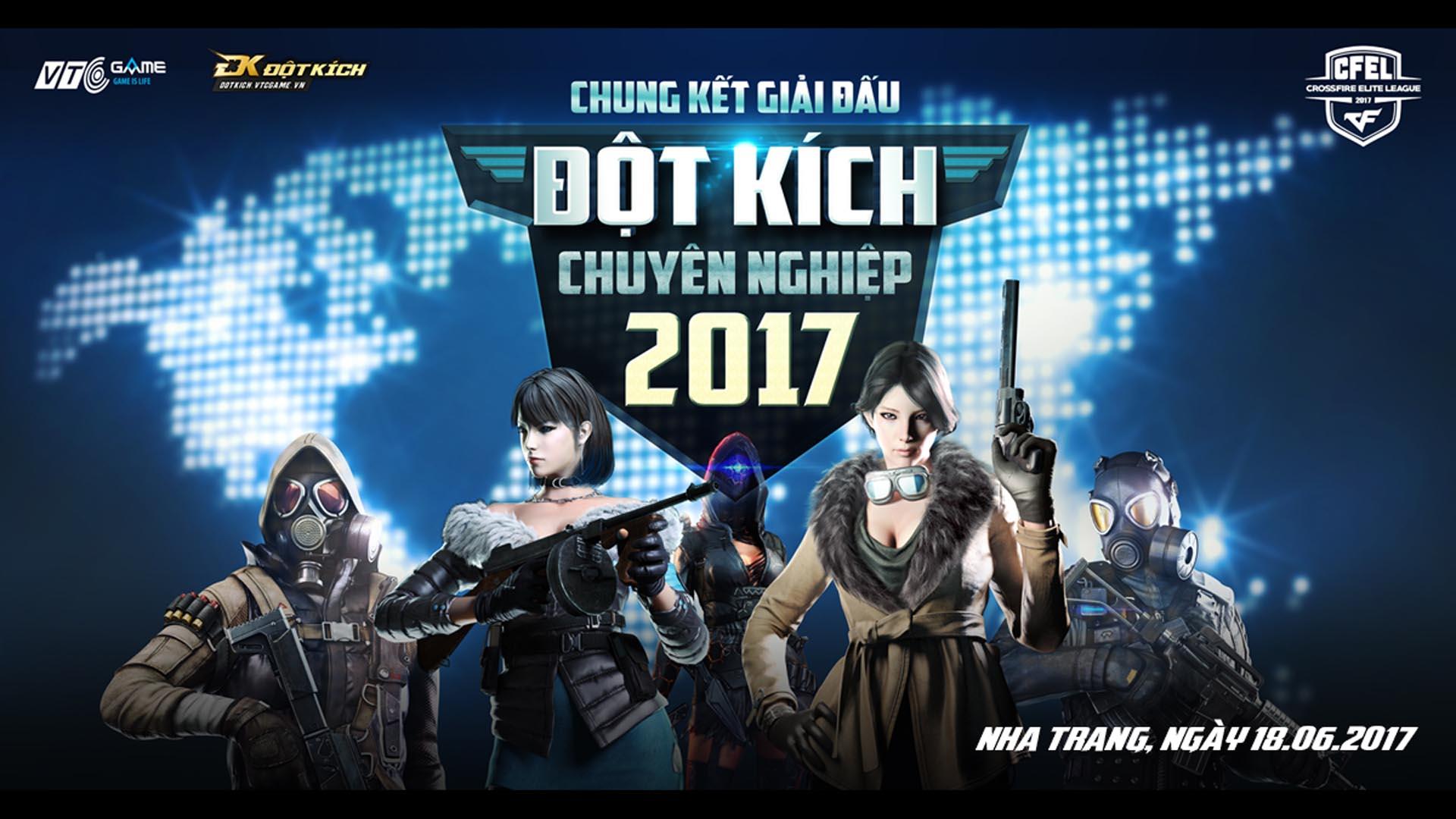 Đưa Esports Việt lên tầm cao mới cùng giải đấu Chuyên nghiệp Đột kích CFEL 2017 - Tin Game