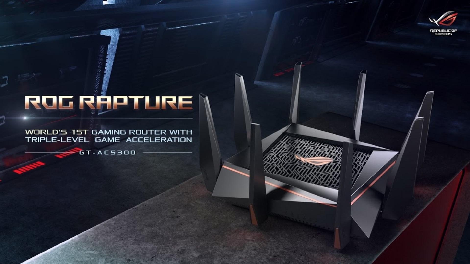 ASUS Republic of Gamers chính thức ra mắt bộ định tuyến Rapture GT-AC5300