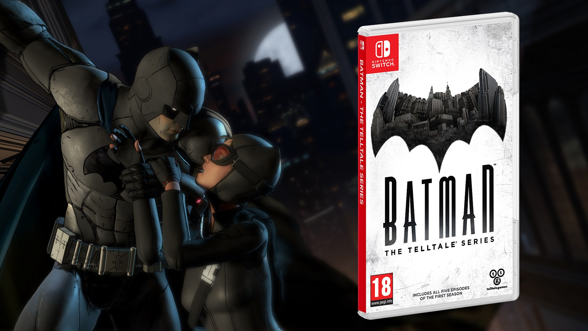 Batman: The Telltale Series sắp có mặt trên Nintendo Switch- Tin Game