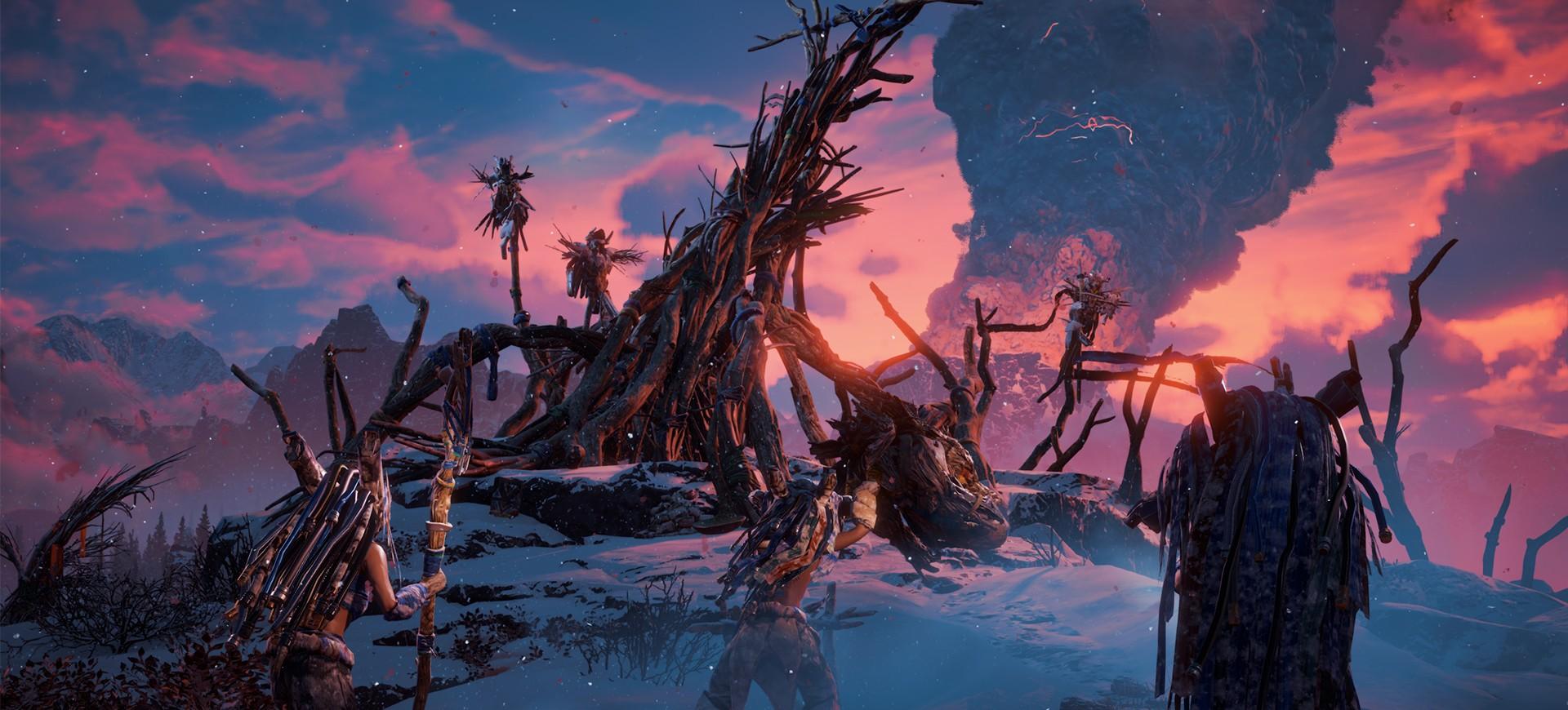 Horizon Zero Dawn: The Frozen Wilds - Đánh Giá Game