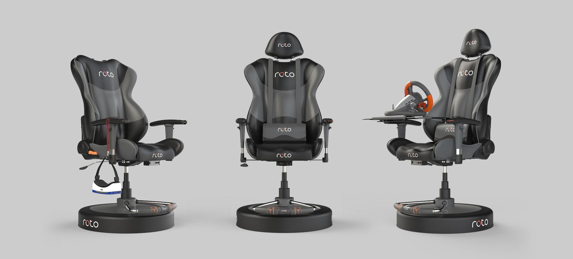 Roto VR Chair – chiếc ghế đến từ bộ phim Ready Player One – chính thức được mở bán – Tin Gaming Gear