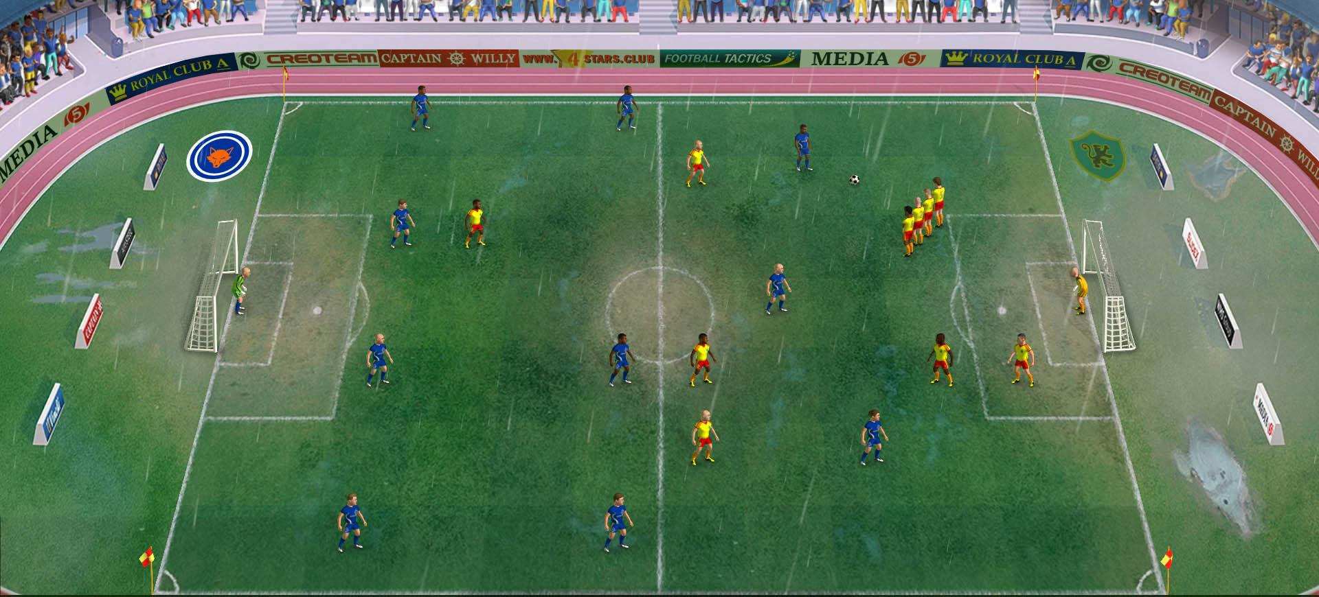 Football, Tactics & Glory, game bóng đá thể loại chiến thuật theo lượt sẽ ra mắt vào đầu tháng 6 này trên PC – Tin Game