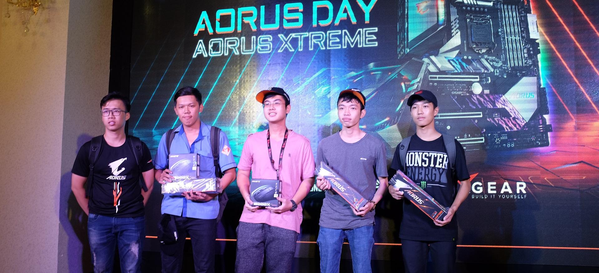 AORUS Day - Ngày hội dành cho fan của Gigabyte