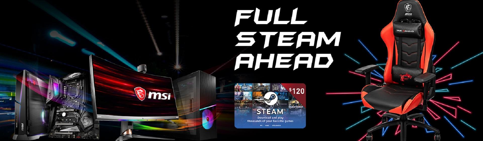 MSI Full Steam Ahead