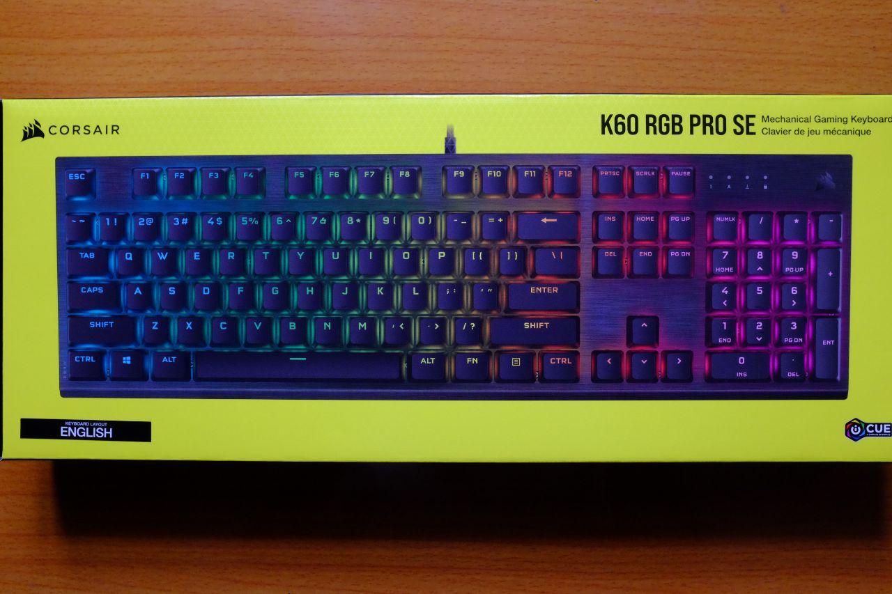 Game news: Corsair K60 RGB Pro SE Mechanical Keyboard – Đánh Giá