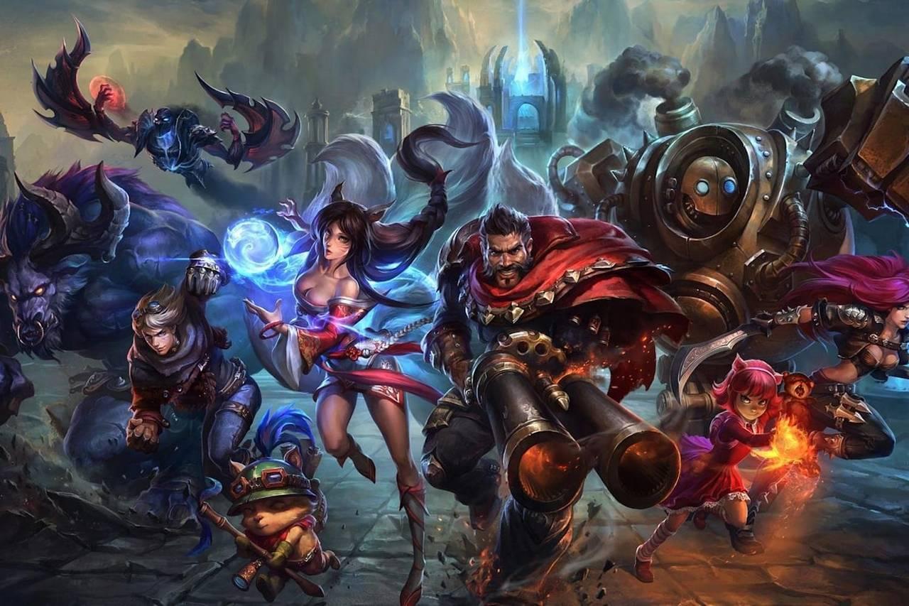 League of Legends MMORPG
