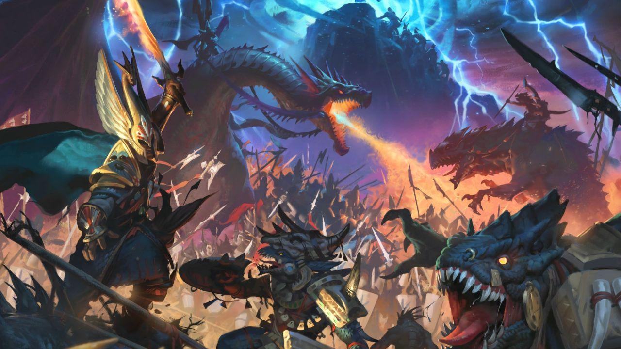 bản đồ Total War: Warhammer III