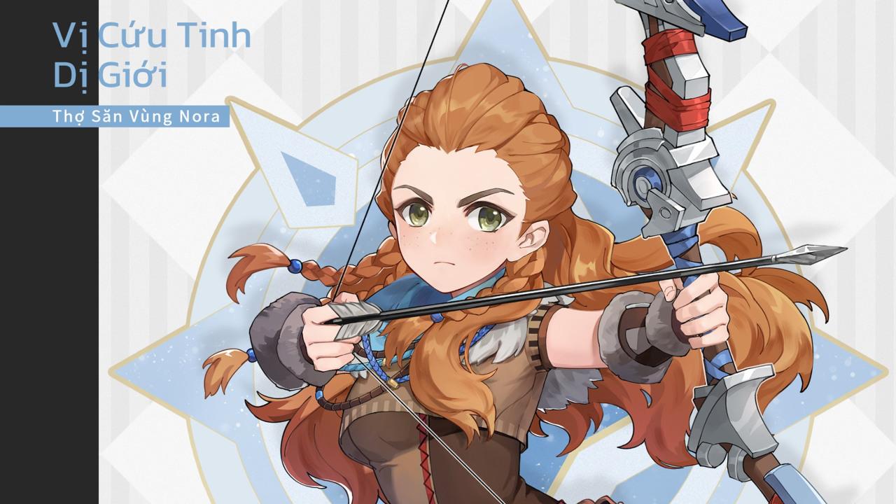 Aloy, nhân vật năm sao mới của Genshin Impact